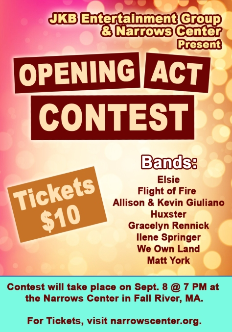 Opening Act Contest