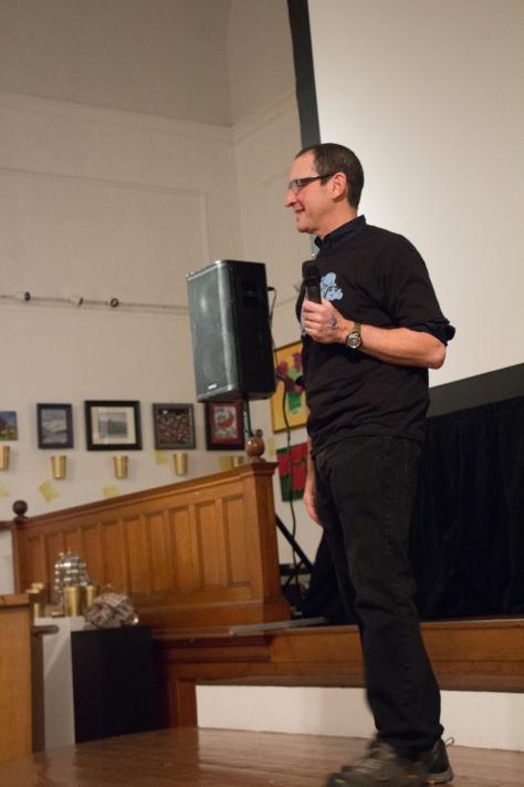 Buzzard's Bay Film Festival Director Tom Gidwitz.