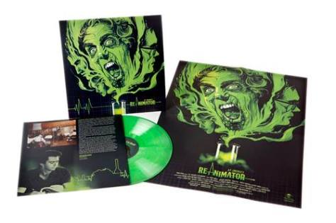 Richard Horner Band's soundtrack to Re-Animator was the first album released on vinyl by Waxwork Records