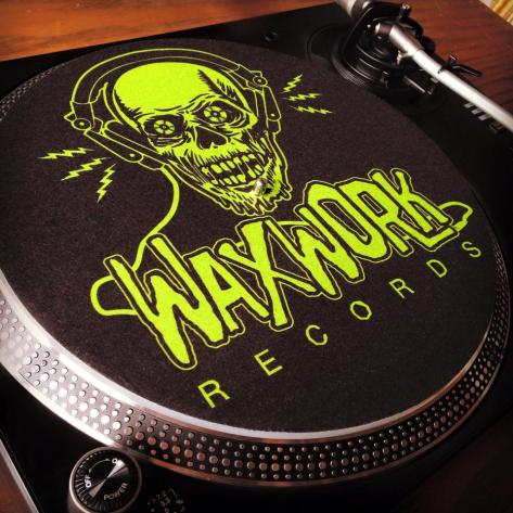 Waxwork Records slipmats are just some of the goodies you may receive by signing up for the company's subscription service.