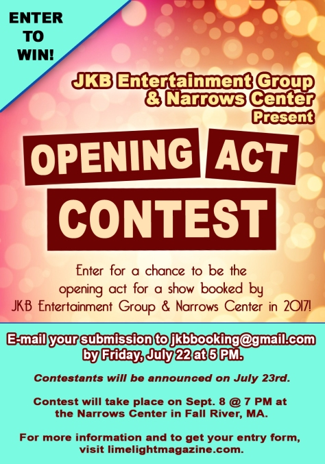Opening Act Contest 2016
