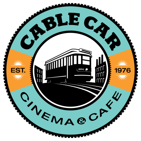 The logo of the Cable Car Cinema and Cafe in Providence, R.I. The award winning and national recognized theater will celebrate its 40th anniversary this weekend.
