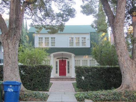 Nancy Thompson's family house in the original