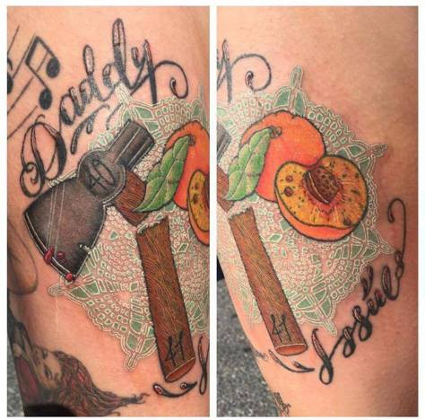 One of Nicole Coogan's favorite tattoos was the (SUBMITTED PHOTO)