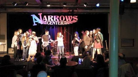 TJ's All Star Band performs at the Narrows Center for the Arts in Fall River, MA (SUBMITTED PHOTO)