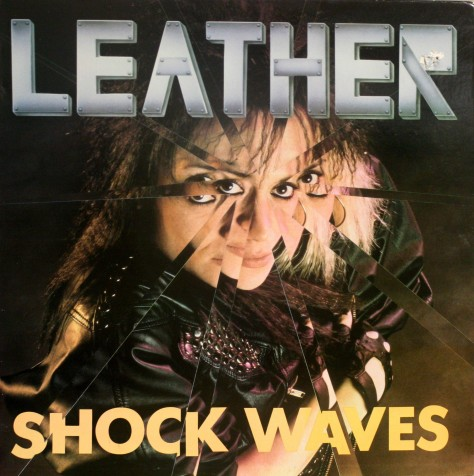 """Leather Leone is working on her first solo album since """"Shock Waves"""" in 1989."""