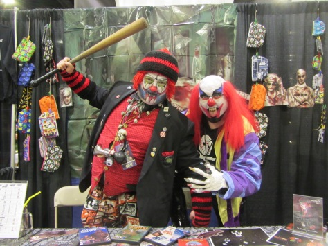 The characters of the Chuckles & Laughs Show featuring Chuckles The Klown.