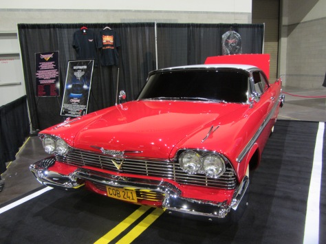 "The car from the movie ""Christine."""