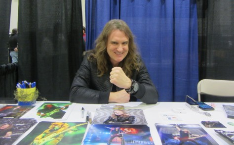 David Ellefson of Megadeth was one of the many guests participating at Terror Con.