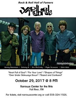 Flyer - The Yardbirds JPEG