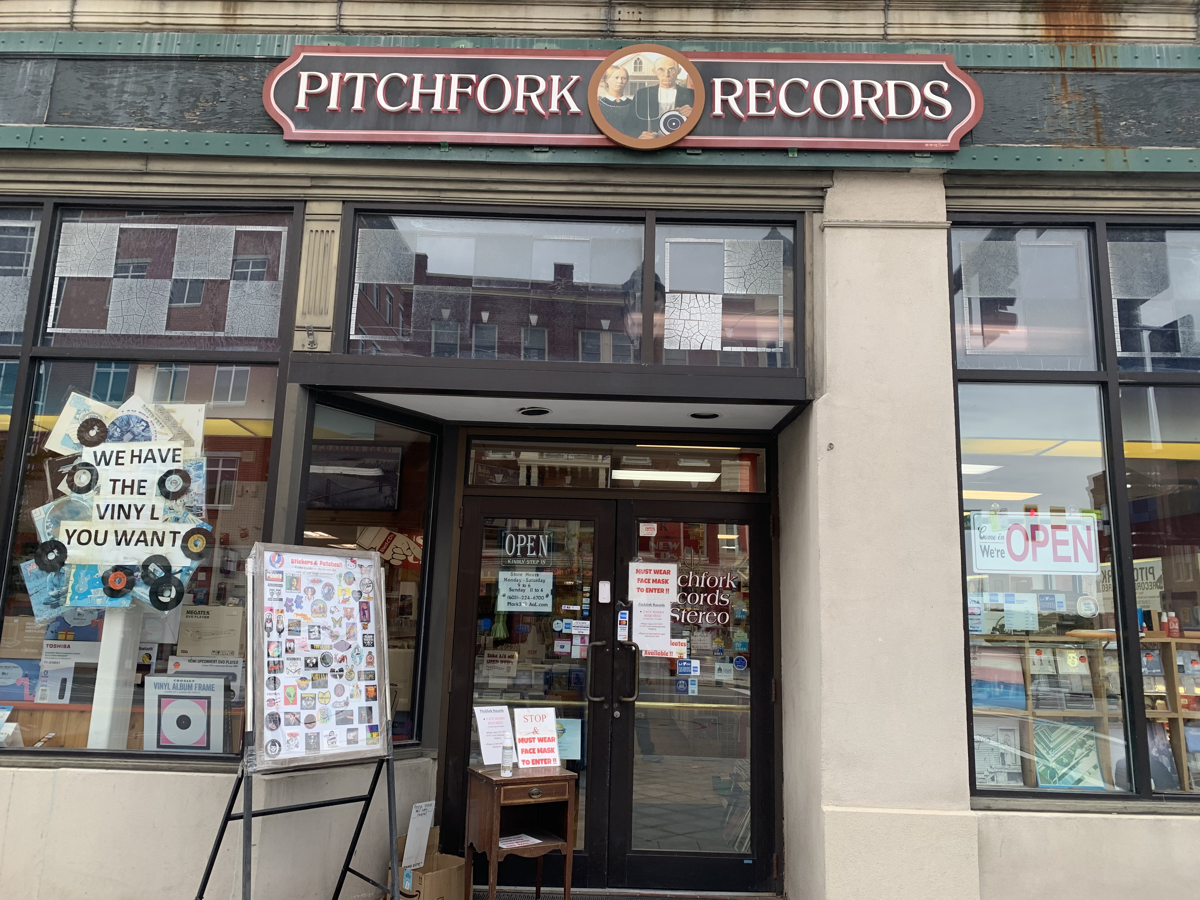NH - Pitchfork Records Concord